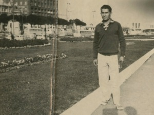 I'm INSPIRED by change! Much of this INSPIRATION comes from my Dad. This is a picture of him in Naples in 1960 on his way to Canada. He came by HIMSELF, with NOTHING, and not a word of English. When I am afraid of risk, I think of him!