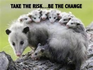 Do it! Take the risk! Be the change and most importantly, take your students and those you work and learn with everyday along for the ride! Our KIDS depend on it!   Thank you!
